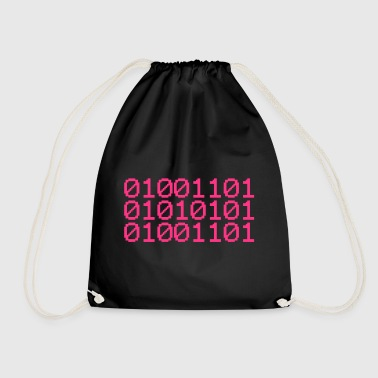 BINARY MUM - Drawstring Bag