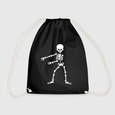 Floss like a boss flossing dancing skeleton - Drawstring Bag