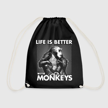 Monkey Chimpansee Animal Zoo Zoo Gift - Sportstaske