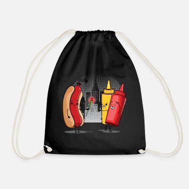 Funny Collection Hotdog Love - Gymbag