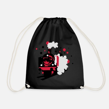 Railroad railroad - Drawstring Bag