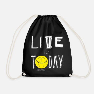 SmileyWorld Live for Today - Mochila saco