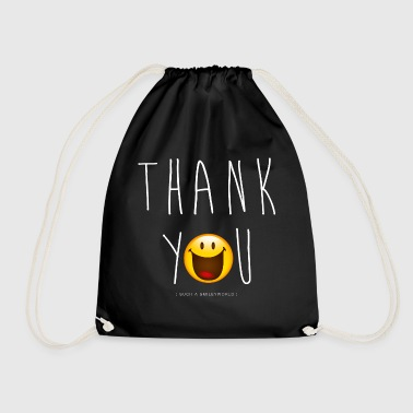 Smileyworld Thank You - Drawstring Bag