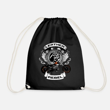 Leather Leather Rebel - Drawstring Bag