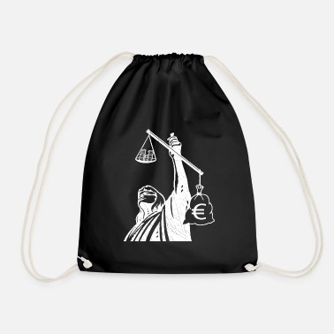 Class Struggle Injustice class struggle redistribution finances - Drawstring Bag