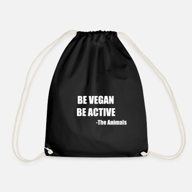 Rights Be Vegan. Be Active. -The Animals - Turnbeutel