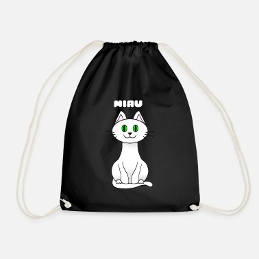 Mythologie Chat kawaii - Sac à dos cordon