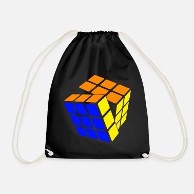 Rubik's Cube STB Solved - Drawstring Bag