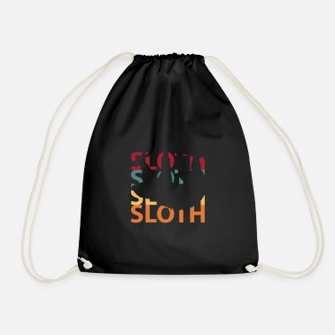 Sloths Sloth sloths - Drawstring Bag