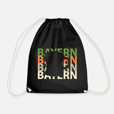 Beer Tent Bavaria Germany beer tent - Drawstring Bag