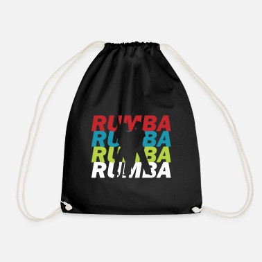 Dance Couple Dancing dance couple Rumba - Drawstring Bag