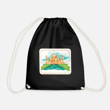 Building building - Drawstring Bag