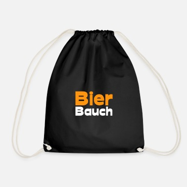 Belly beer belly - Drawstring Bag