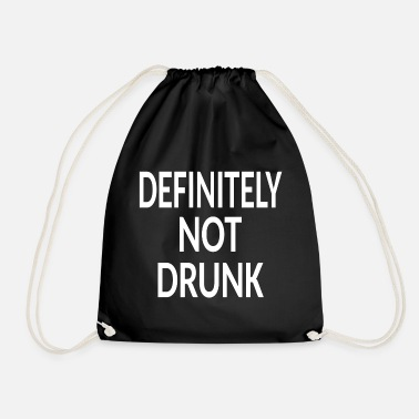 Emergency drunk - Drawstring Bag