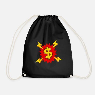 Dollar boom - Drawstring Bag