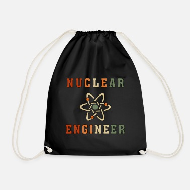 Nuclear Best Nuclear Engineer Tshirt, Funny Unique Design - Drawstring Bag
