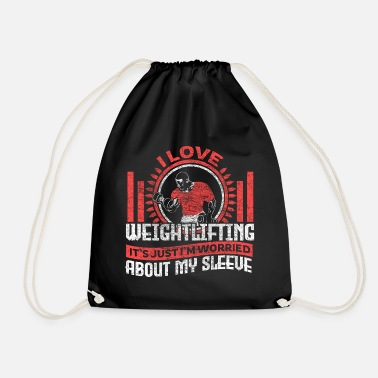 Weightlifting Weightlifting weight training fitness gift - Drawstring Bag