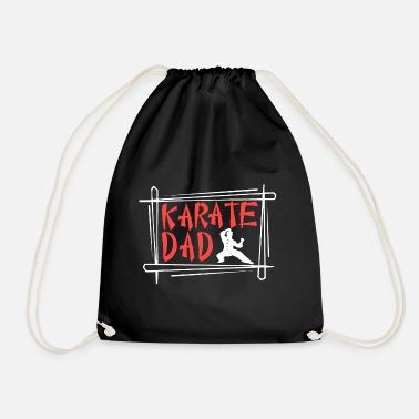 Karate Dad - Drawstring Bag