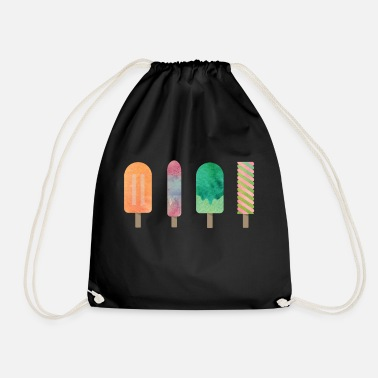 Water Ice water ice - Drawstring Bag