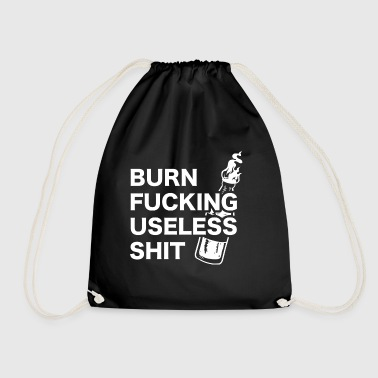 Molotow Burn fucking useless shit - Molotow Motiv - Drawstring Bag