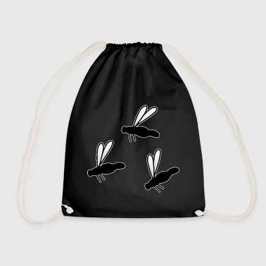 Insect Fly Fly Fly - Drawstring Bag