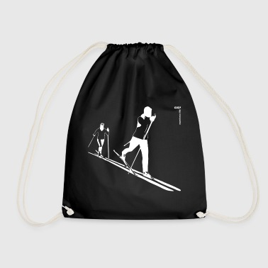 gxp ski cross-country skiing w - cross-country skiing w - Drawstring Bag