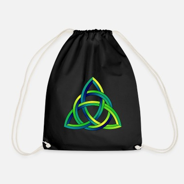 Celtic Knot Celtic Knot Celtic Knot - Drawstring Bag