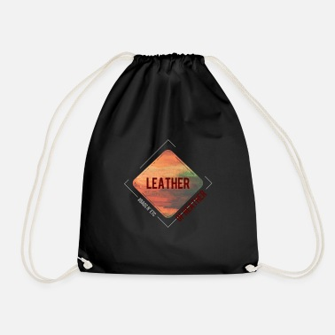 Leather Leather - Drawstring Bag