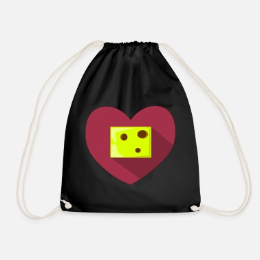 Heartache Heart // Heartbreaker // Love // Heartache - Drawstring Bag