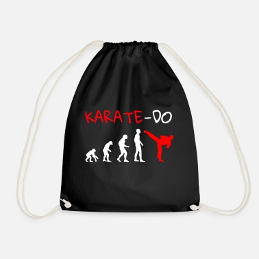 Karate karate - Drawstring Bag