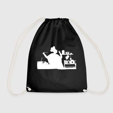 Cook cook - Drawstring Bag