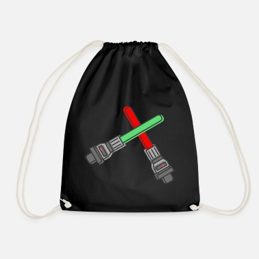 Lightsaber lightsaber lightsaber handle Star - Drawstring Bag