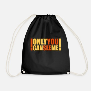 Cool only you can see me - Sac à dos cordon