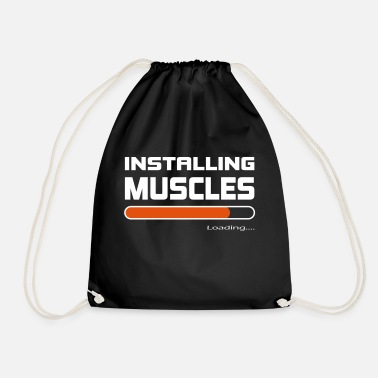 Installation Installer des muscles Installer Muscle Gift - Sac à dos cordon