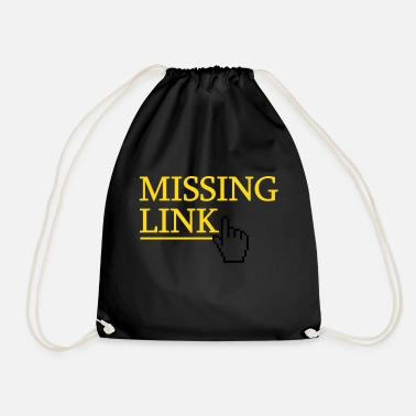 Pc Missing Link - Drawstring Bag