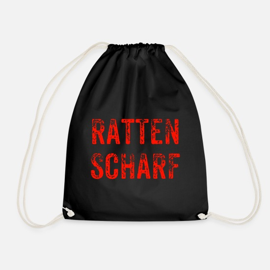 Gift Idea Bags & Backpacks - Sharp - Drawstring Bag black