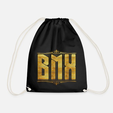Bmx BMX / Bmx / bmx bike bicycle / bmx ride - Drawstring Bag