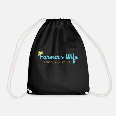 Farmers Wife Farmers Wife Proud Shirt - Drawstring Bag