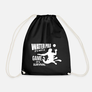 Water Polo Water Polo Gift- Water Polo Aquaball Waterpolo - Drawstring Bag