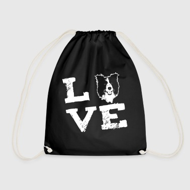 LOVE - Border Collie - Sac de sport léger