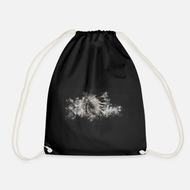 American Indian American Indian Indians - Drawstring Bag