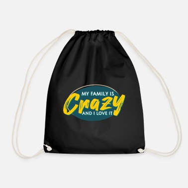 Family With Several Family saying - Drawstring Bag