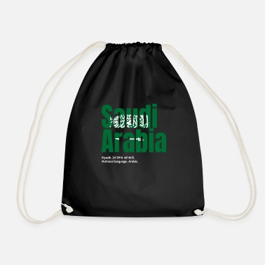 Arabia Saudi Arabia - Drawstring Bag