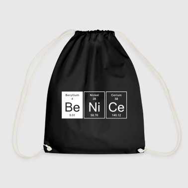 Nice - Be Nice - Drawstring Bag
