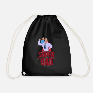 Super Dad SUPER DAD - Drawstring Bag