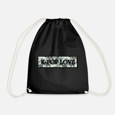 Kpop kpop tape - Drawstring Bag