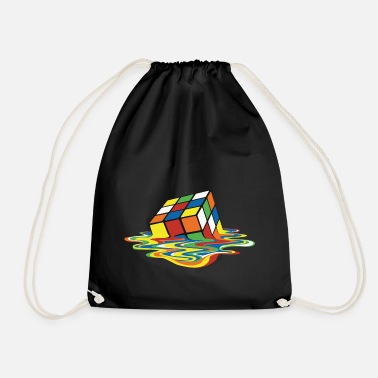 Rubik's Cube Melting Cube - Drawstring Bag