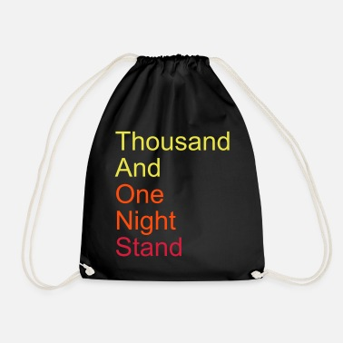 Ville thousand and one night stand 3colors - Sac à dos cordon