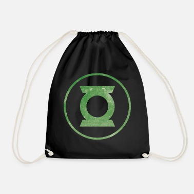 Justice League Green Lantern Logo - Gymnastikpåse