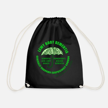 Mixed Dementia Lewy Body Dementia - Drawstring Bag
